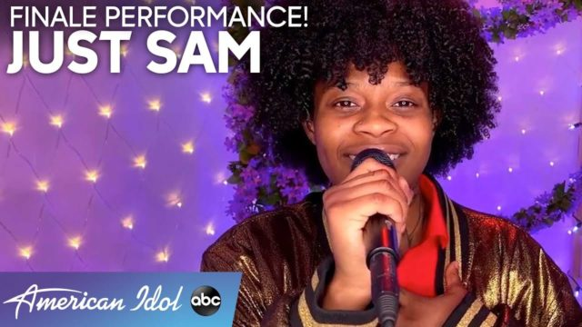 """JUST-SAM-Performs-""""Rise-Up""""-by-Andra-Day-American-Idol-2020-Finale"""