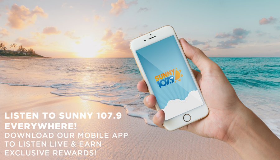 Get the Sunny 107.9 Mobile App